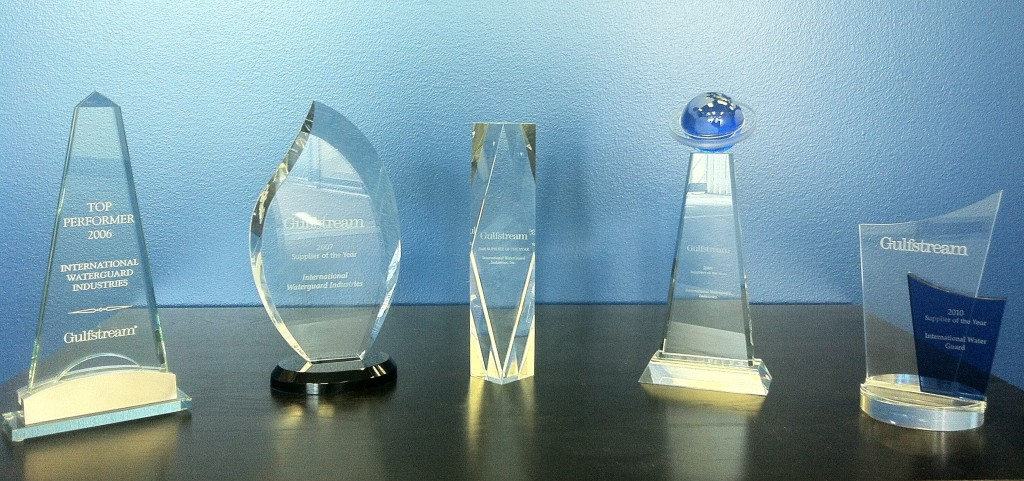 Our awards from Gulfstream.